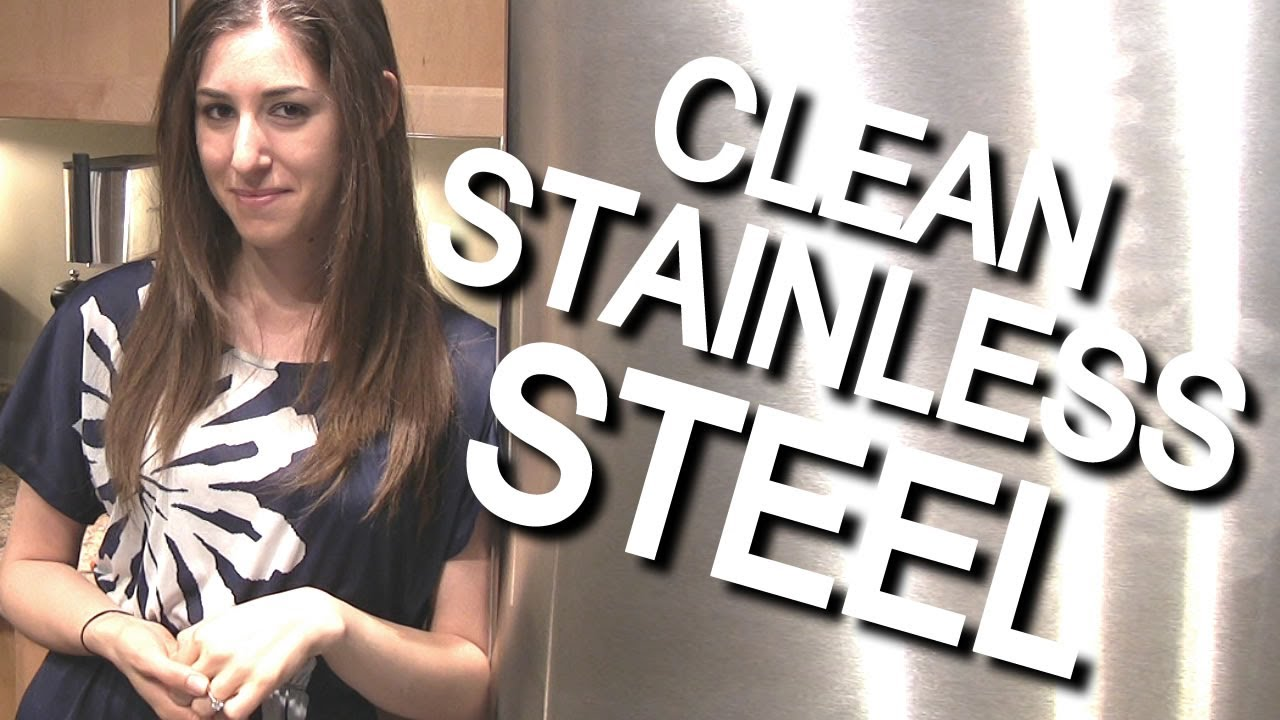 how to clean stainless steel appliances easy kitchen cleaning ideas that save time clean my. Black Bedroom Furniture Sets. Home Design Ideas
