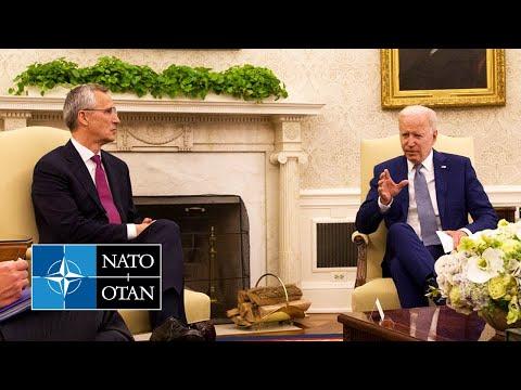 NATO Secretary General with 🇺🇸 US President Joe Biden, 09 JUN 2021
