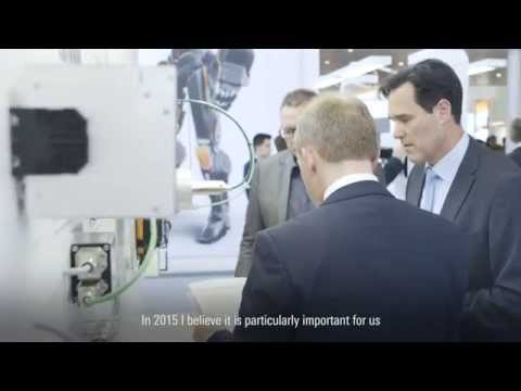Your partner in Industrial Connectivity – Weidmüller at the Hanover Trade Fair 2015