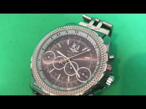 Beautiful Breitling For Bentley Motors Replica Watch Rare Design!