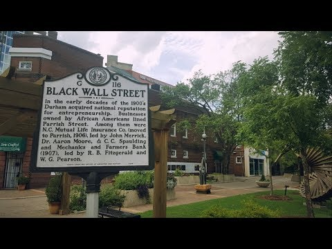 Why Was Black Wall Street In North Carolina Targeted And Removed? - Dane Calloway Live