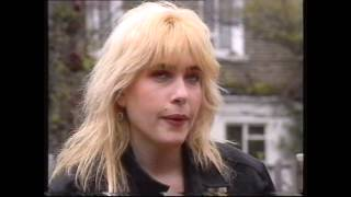 Brix Smith (Adult Net) Interview 1989 + Take Me promo video