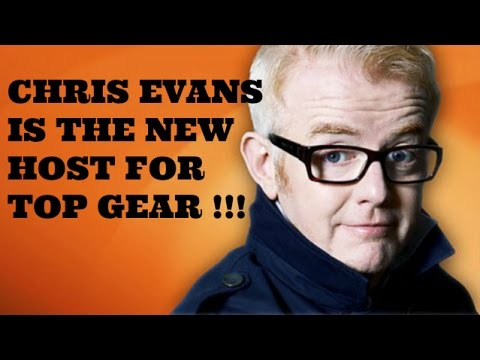 TOP GEAR : Chris Evans to replace Clarkson as host.