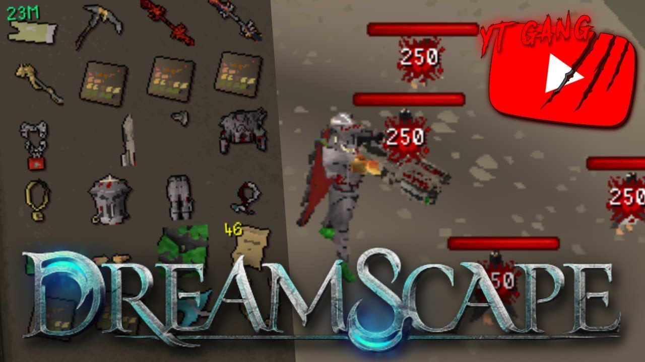 HOW TO MAKE MONEY ON DREAMSCAPE RSPS!!? (HUGE GIVEAWAY) - DreamScape RSPS