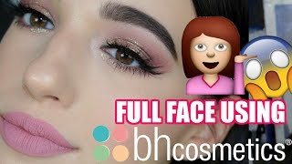 FULL FACE OF BH COSMETICS FIRST IMPRESSIONS | Jordan Byers