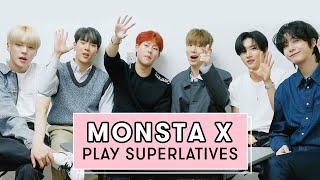 MONSTA X Reveal the Best Dancer, Most Fit, Biggest Flirt and More! | Superlatives | Seventeen