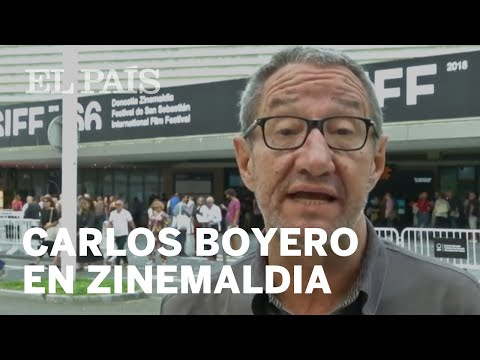 Carlos Boyero habla de 'El reino' desde San Sebastián | CINE