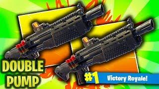 *NEW DOUBLE PUMP SEARCH! FORTNITE HEAVE SHOTGUN DOUBLE PUMP! (Fortnite Battle Royale)