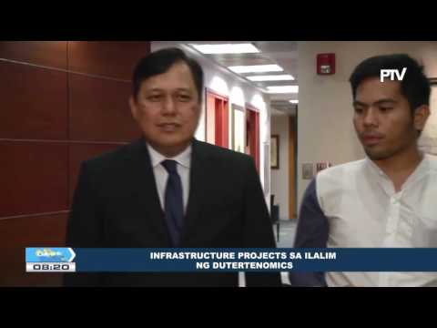 Infrastructure projects sa ilalim ng Dutertenomics
