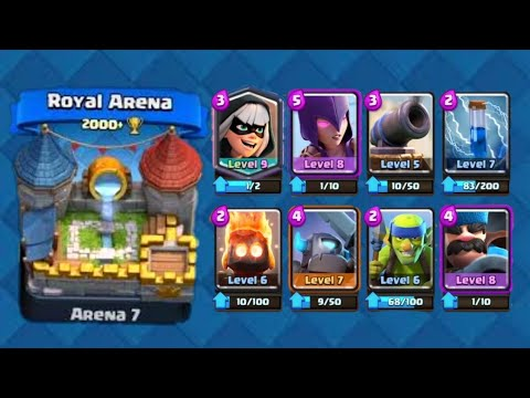 Best Battle Bandit Deck For Arena 7 8 9 Clash Royale Youtube