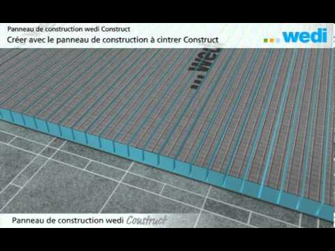 panneaux de construction wedi la solution pratique pour le carrelage youtube. Black Bedroom Furniture Sets. Home Design Ideas