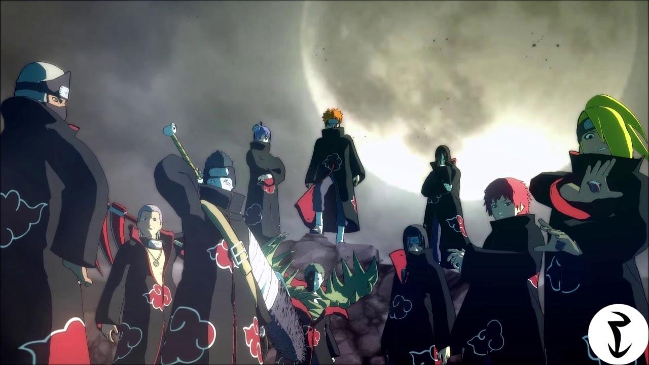 Naruto Shippuden Akatsuki Theme Music Audio Edited Enhanced Youtube