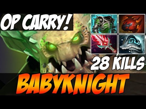 COMEBACK IS REAL! - BabyKnight Plays UNDER OP LORD WITH 28 KILLS - Dota 2