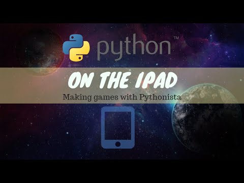 Making game with Ipad and Pythonista