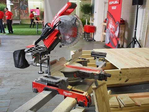 "Milwaukee Tool M18 FUEL 10"" Compound Miter Saw - FIRST LOOK"