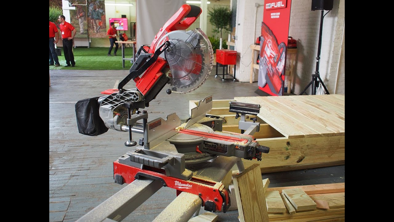 Milwaukee Tool M18 Fuel 10 Quot Compound Miter Saw First
