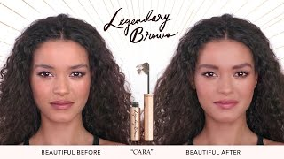 How To: Eyebrow Tutorial For Thick & Unruly Brows | Charlotte Tilbury