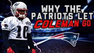 Why the Patriots released WR Corey Coleman