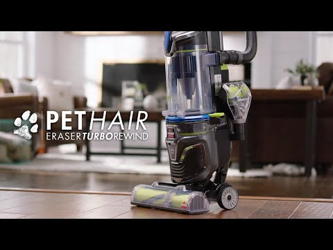 Pet Hair Eraser® Turbo Rewind Vacuum Cleaner