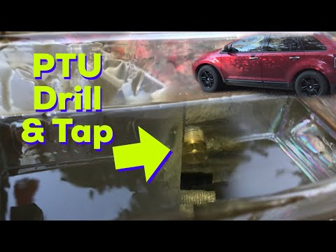 Ford Edge PTU: Drill & Tap-Before and After 10K Miles (MKX)