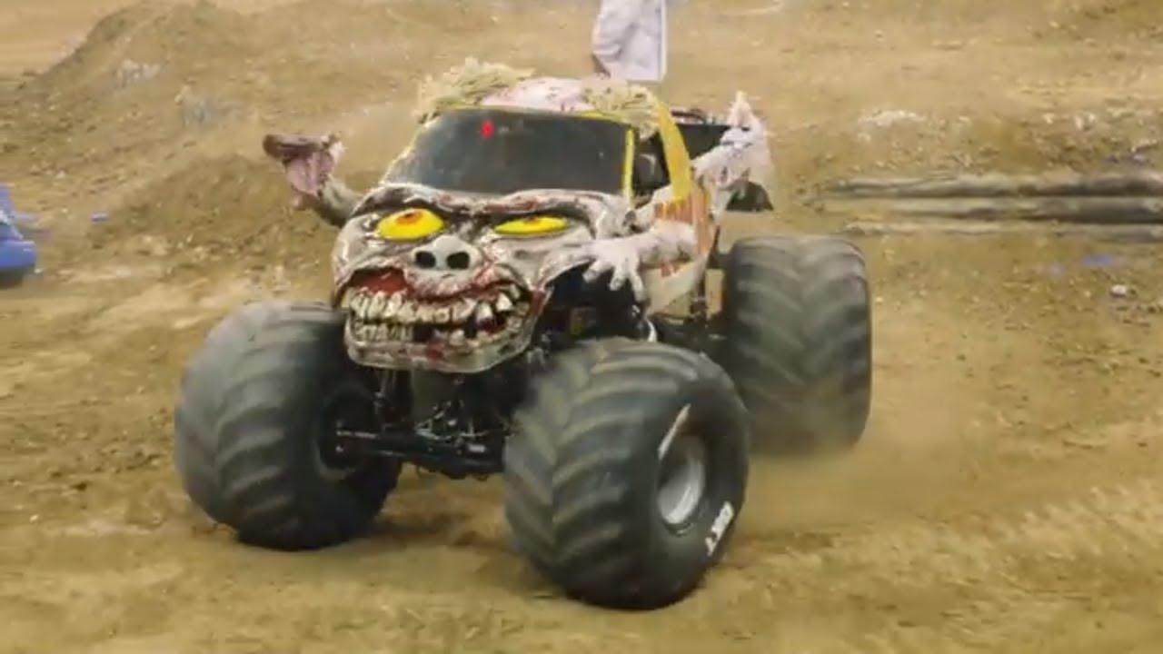 Zombie Monster Truck Winning Freestyle Green Bay