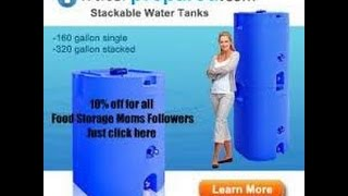 Water Prepared Storage Containers!