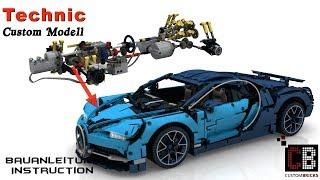 cB LEGO 42083 - Technik RC Bugatti Anleitung mit SBrick