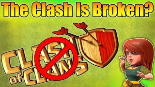 OHH NO😣THE CLASH IS BROKEN? | WHAT HAPPEN NEXT IN CLASH OF CLANS?