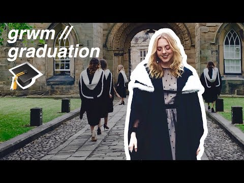 GRWM // the most ROYAL graduation you'll ever see | Durham University