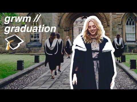 GRWM // the most ROYAL graduation you'll ever see | Durham University