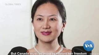 China Denies Arrest of Two Canadians Is Tied to Meng Case