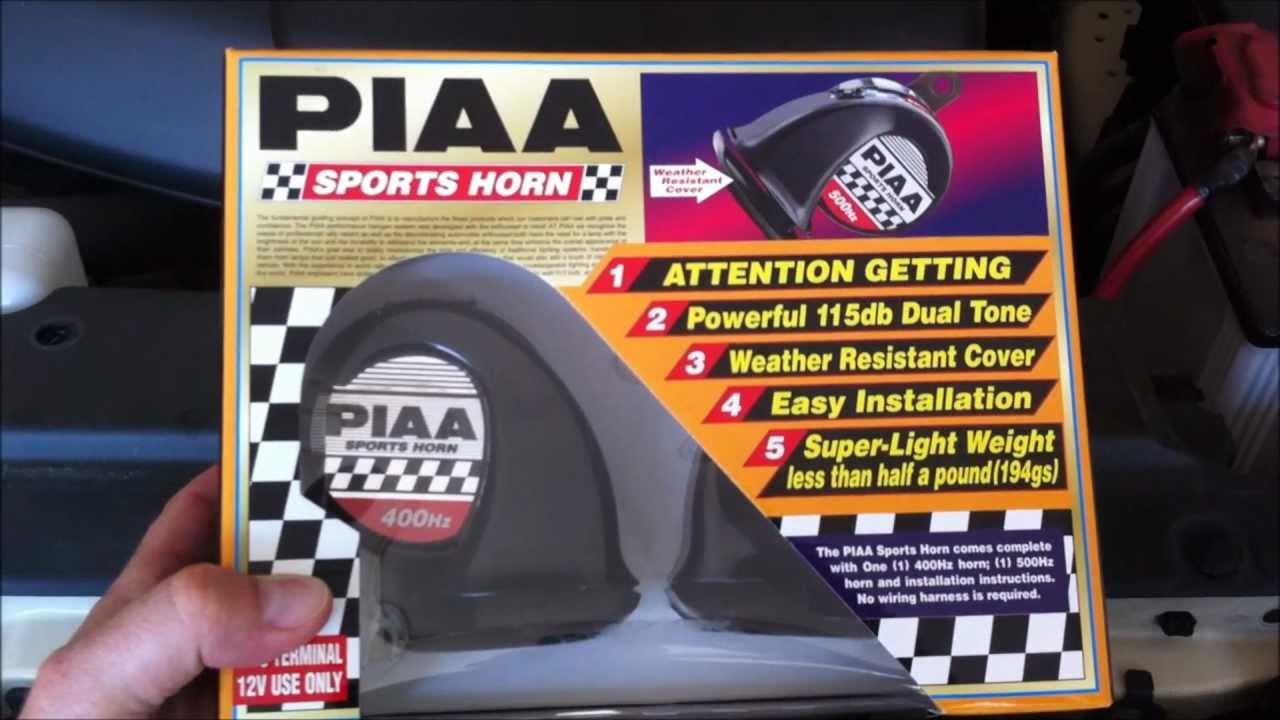 piaa sports horn install youtube rh youtube com