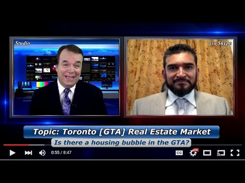 Is the GTA (Greater Toronto Area ) in a real estate bubble ?