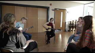The Future Looks Good / Don't You Worry Child - Acoustic Cover   Issy Steph Em Leah Oskar