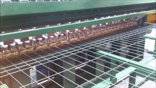 Zgrzewarka wielopunktowa do paneli ogrodzeniowych ZW 2x250 DC