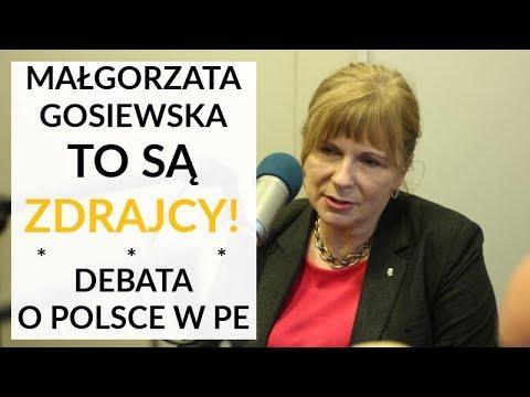 To są ZDRAJCY! – Gosiewska ostro o eurodeputowanych Platformy Obywatelskiej