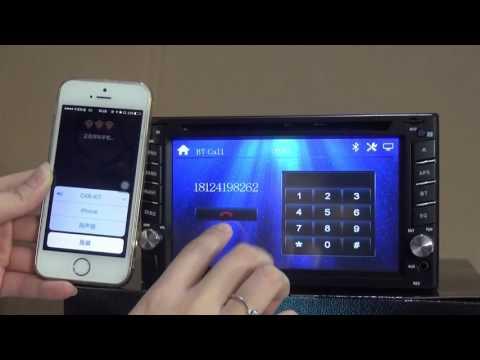 "6.2"" GPS Navigation HD 2DIN Bluetooth Car Stereo DVD Player"