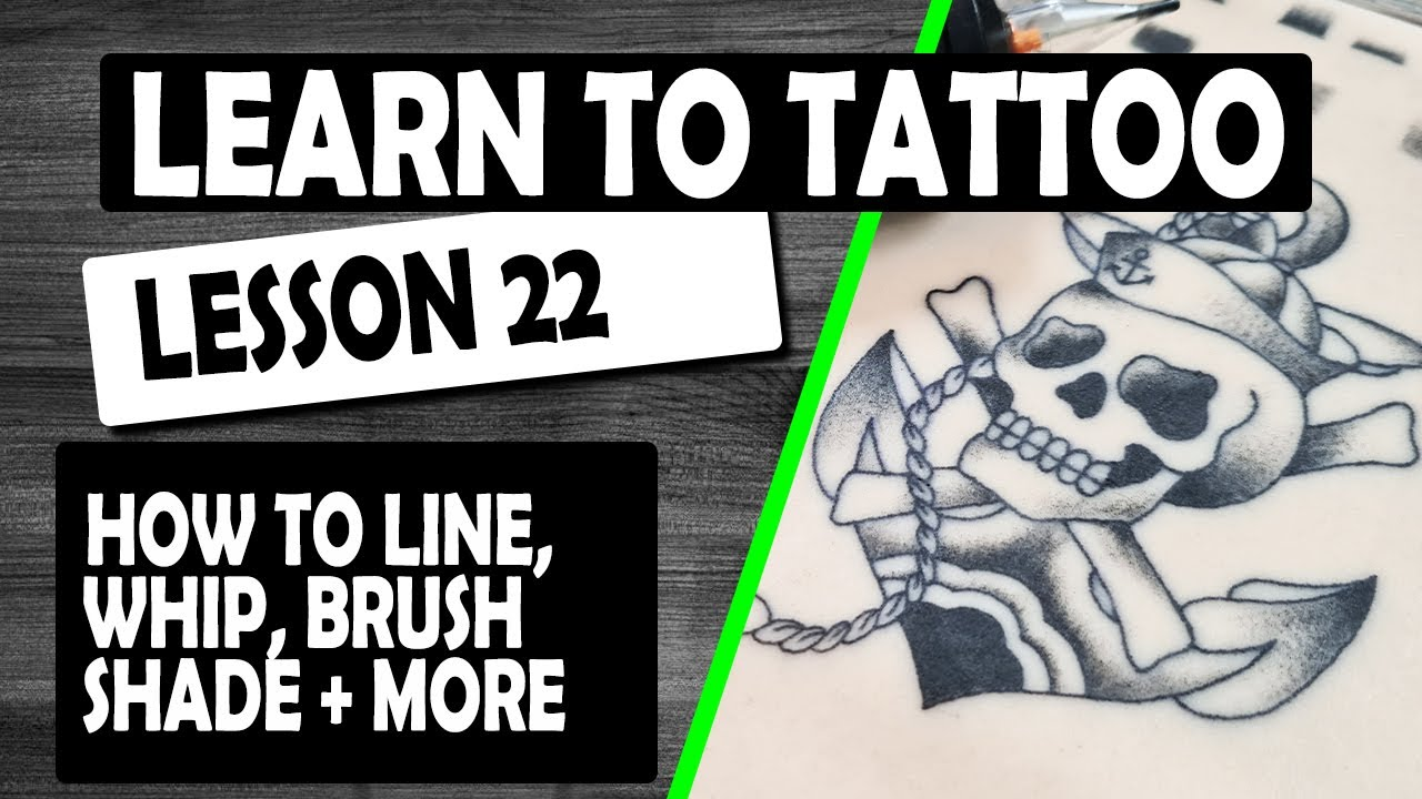 Download LEARN HOW TO TATTOO –  LESSON 22 SKULL DESIGN LINE – SHADE & MORE