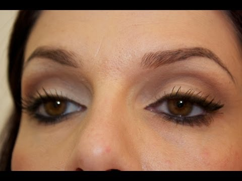 tuto maquillage d butant cut crease neutre eyeliner youtube. Black Bedroom Furniture Sets. Home Design Ideas