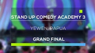 Video Stand Up Comedy Academy 3 : Yewen, Papua download MP3, 3GP, MP4, WEBM, AVI, FLV Juli 2018