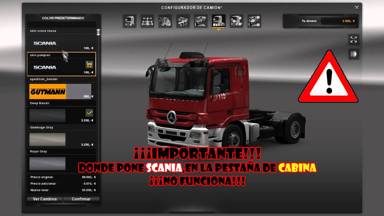 Euro Truck Simulator 2 1 16 Mega Pack Mods Youtube