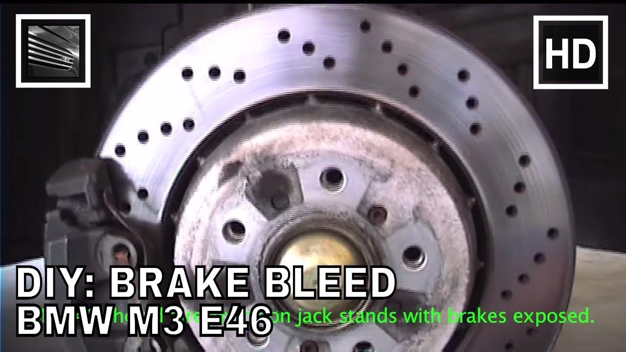 DIY Brake Bleed BMW M3 E46  YouTube