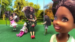 Barbie Toddlers Pretend Play with Chelsea | Naiah and Elli Doll Show Ep. 21