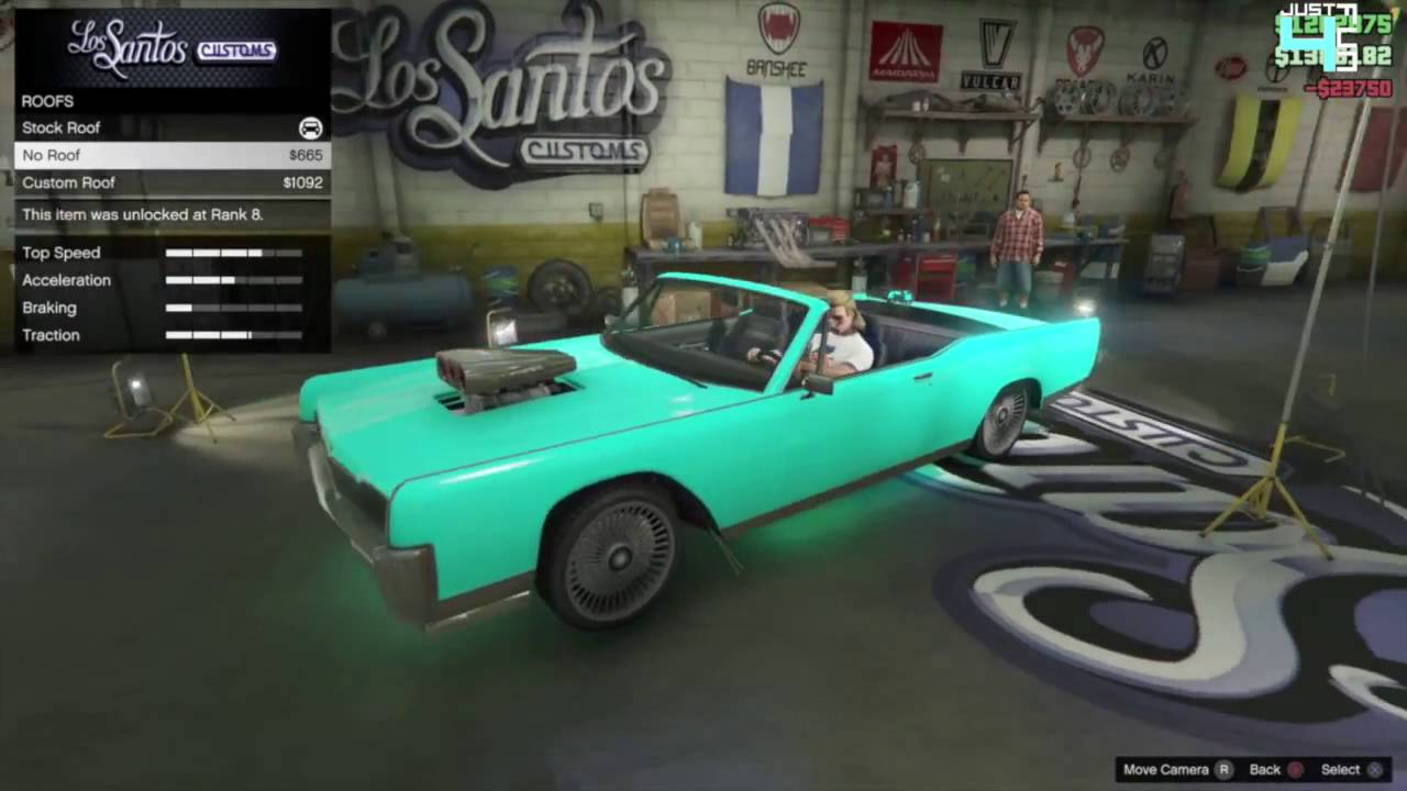 gta 5 online vapid chino best muscle car $$$500,000 car