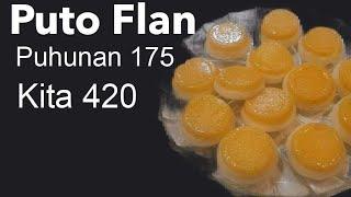 Paano gumawa ng Puto Flan ? ( how to make Puto Flan?)