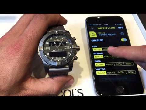 Breitling Exospace b55 - reloj conectado en español