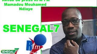 Revue de Presse (Wolof) Rfm Fm du Jeudi 10 Octobre 2019 par Mamadou Mouhamed Ndiaye