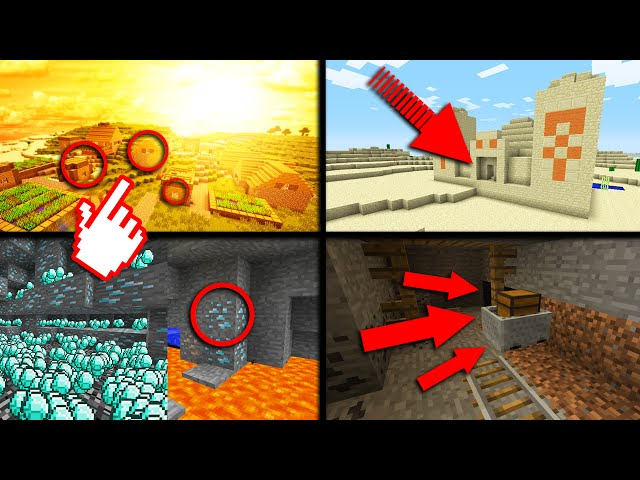 4 BEST SEEDS IN MINECRAFT 1.10 (NEW AND AMAZING SEEDS)