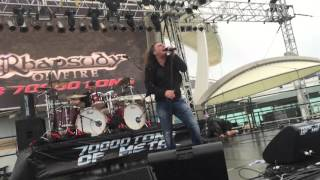 rhapsody of fire emerald sword at 70000 tons of metal 2016