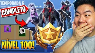 I RESET THE NEW BATTLE PASS * LEVEL 100 * AND IT'S AMAZING!! -Fortnite Battle Royale